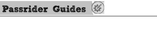 Passrider Guides